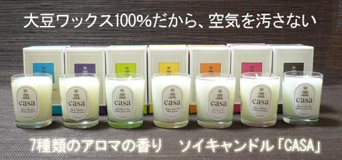 ソイキャンドルCASA★絶対お得な全種類セット